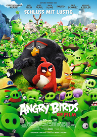 Angry Birds – Der Film (Filmplakat, © Sony Pictures Releasing GmbH /©2016 Rovio Animation Ltd and Rovio Entertainment Ltd. Angry Birds)