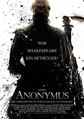 Anonymus, Plakat (Sony Pictures Releasing GmbH)