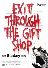 Banksy - Exit through the gift shop, Plakat (Alamode Film)