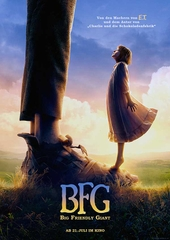 BFG – Big Friendly Giant (Filmplakat © 2016 Constantin Film Verleih GmbH)