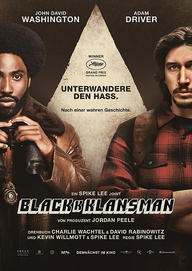 BlacKkKlansman (Filmplakat, © Universal Pictures International Germany)