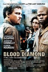 Blood Diamnond Filmplakat