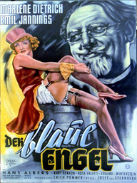 Der blaue Engel (Filmplakat, © picture alliance / ZB)