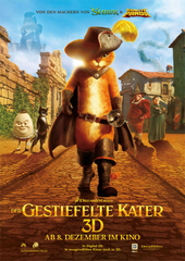Der Gestiefelte Kater, Filmplakat (Foto: Paramount Pictures Germany GmbH)