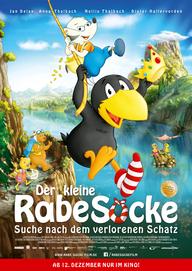 Der kleine Rabe Socke - Suche nach dem verlorenen Schatz (Filmplakat, © Universum Film)