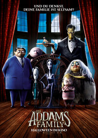 Die Addams Family (Filmplakat, © Universal Pictures)