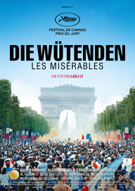 Die Wütenden – Les Misèrables (Filmplakat, © Wild Bunch Germany)