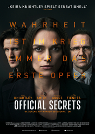 Official Secrets (Filmplakat, © eOne)