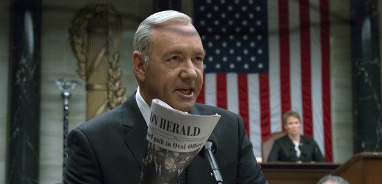 "Kevin Spacey in der Netflix-Serie ""House of Cards"" (© picture alliance / AP Photo)"