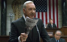 Kevin Spacey in House of Cards (© picture alliance / AP Photo)