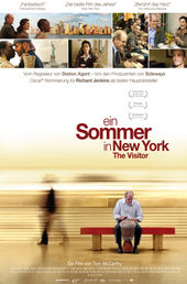 Ein Sommer in New York – The Visitor, Filmplakat (Foto: Pandastorm Pictures)