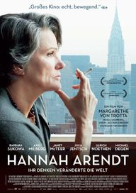 Hannah Arendt, Plakat (NFP marketing & distribution)
