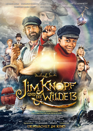 Jim Knopf und die wilde 13 (Filmplakat, © Warner Bros. Germany)