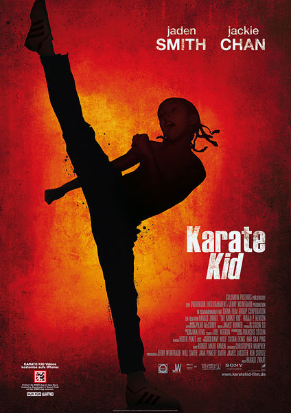 Jackie Chan The Karate Kid Dvd Cover