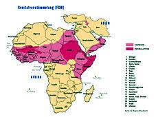 Beschneidung frauen afrika