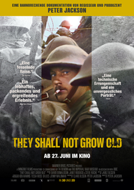 They Shall Not Grow Old (Filmplakat, © Warner Bros. Pictures)