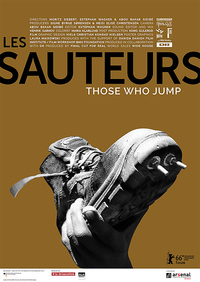 Les Sauteurs – Those Who Jumo (Filmplakat, © Arsenal – Institut für Film und Videokunst e.V.)