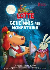 Lotte und das Geheimnis der Mondsteine, Plakat (Pandastorm Pictures)