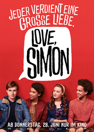 Love, Simon (Filmplakat, © Twentieth Century Fox)
