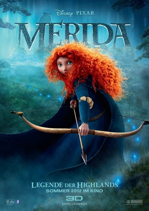 Merida - Legende der Highlands, Filmplakat (Foto: Disney/Pixar)