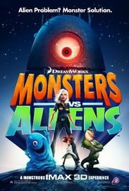 Monsters vs Aliens, Filmplakat