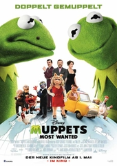 Muppets Most Wanted, Filmplakat (Foto: ©2014 Disney Enterprises, Inc. All Rights Reserved)