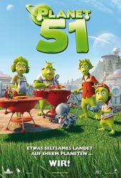 Planet 51, Filmplakat (Foto: Sony Pictures Releasing GmbH)
