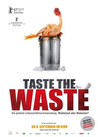 Taste the Waste, Plakat (W-film)