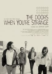 The Doors: When you're strange, Plakat (Kinowelt Filmverleih)