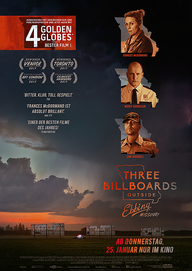 Three Billboards Outside Ebbing, Missouri (Filmplakat, © Twentieth Century Fox)