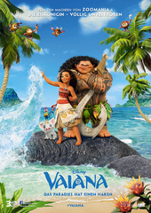 Vaiana (Filmplaka, © 2016 Disney. All Rights Reserved)