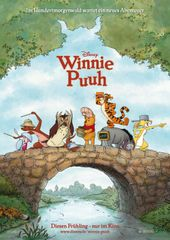 Winnie Puuh, Plakat (Walt Disney Studios Motion Pictures Germany)